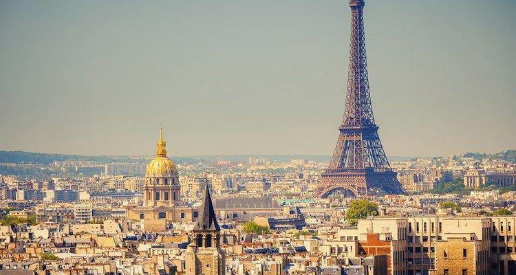París es un buen lugar para visitar en enero.