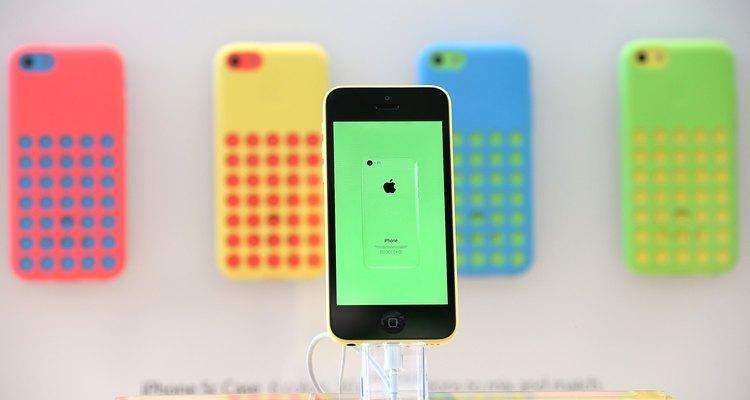 Iphone de la marca Apple.