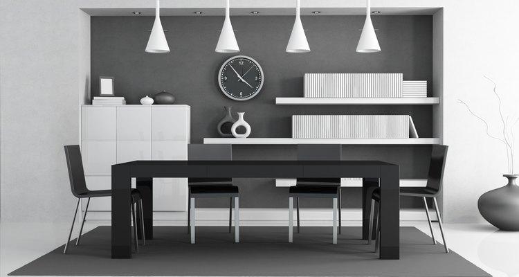 Negro, blanco y gris siempre de moda.