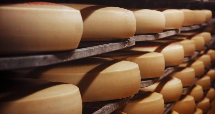 O preparo do queijo começa na separação do leite integral