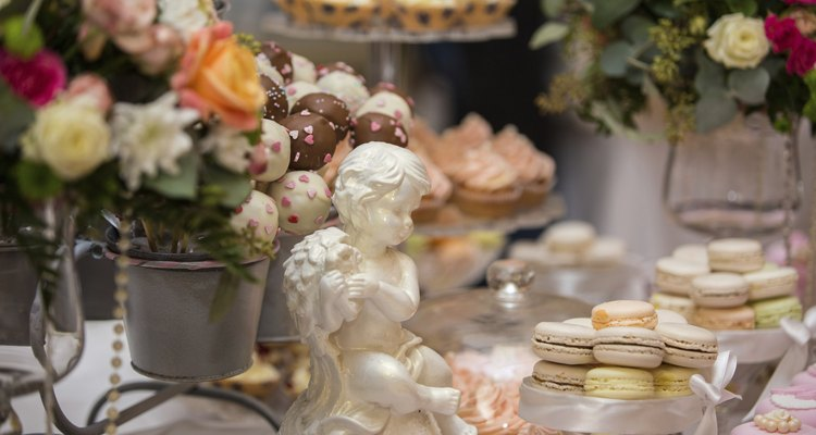 French dessert at wedding
