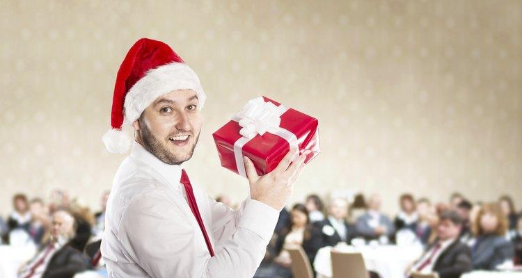 Fiesta de Navidad de la oficina.