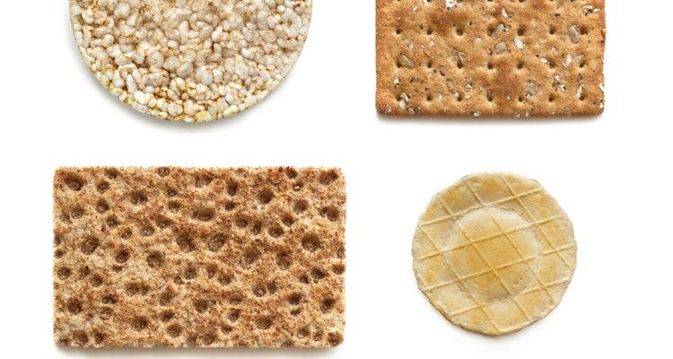 Las galletas de arroz son una alternativa saludable a las típicas galletas saladas.