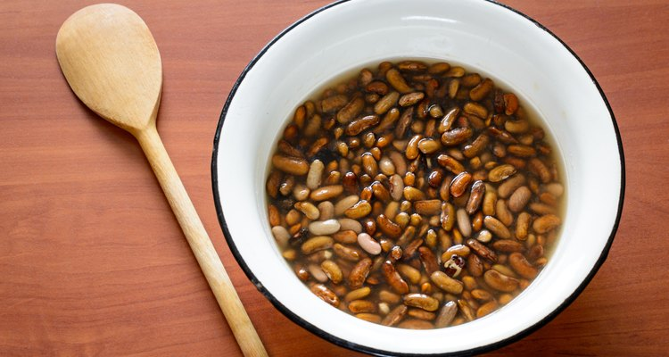 Brown Beans in Water