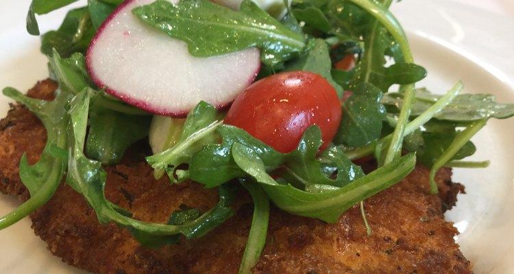Crispy Breaded Chicken Milanesa