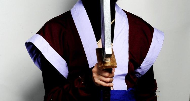 Em mangas gekiga, ninjas são comumente os personagens principais