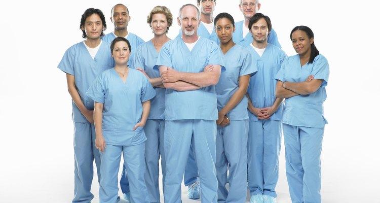 Salarios en medicina.
