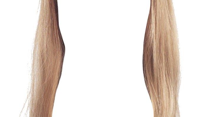 Tonalizantes podem ser facilmente tirados de sua peruca sintética com uma lavagem