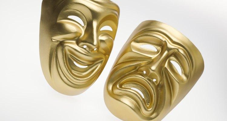 As máscaras gregas eram chamadas personas
