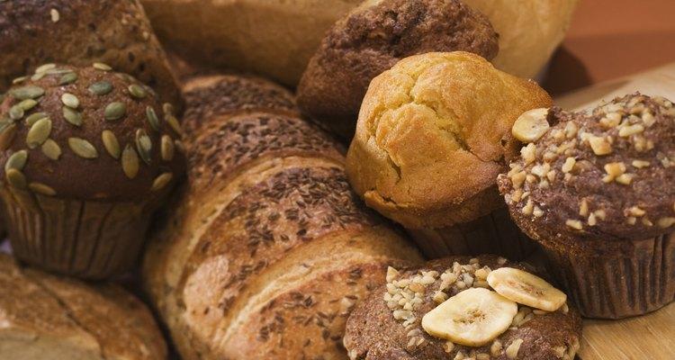 El pan se hace de muchos tamaños y formas.