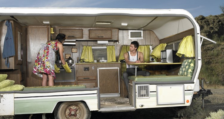 Sway bars help prevent caravans from tipping.