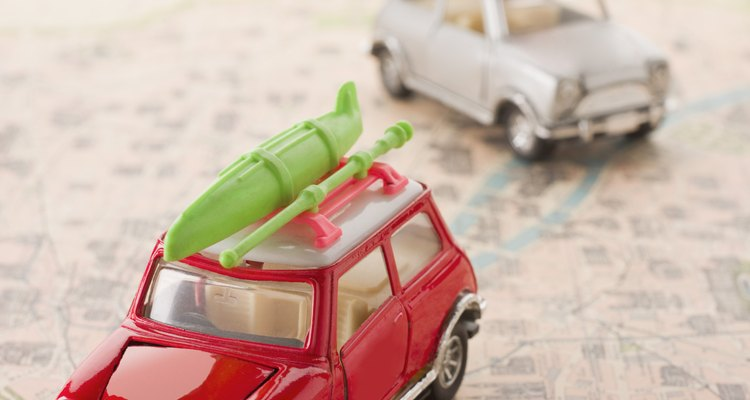Make sure cargo is properly secured to the roof rack before driving.