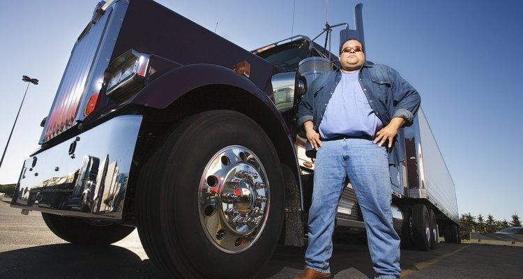 Se reporta que los propietarios operadores de camiones han ganado hasta US$82.000 al año.