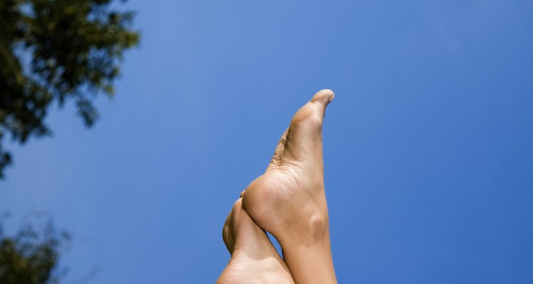 The reason feet swell in the heat