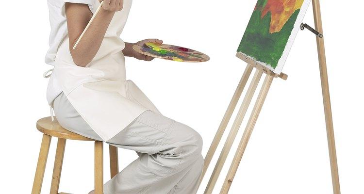 Não tomar as devidas precauções ao limpar uma pintura a óleo resulta em danos