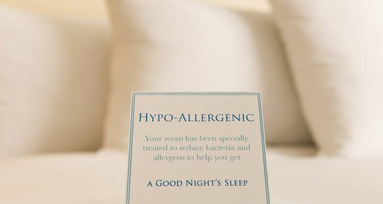 Si eres sensible a alergias cerciórate de que tu almohada sea hipoalergénica.