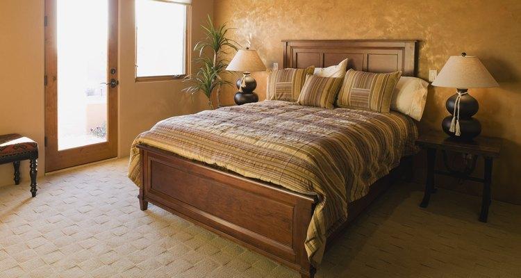 Existen varios componentes diferentes en una cama.