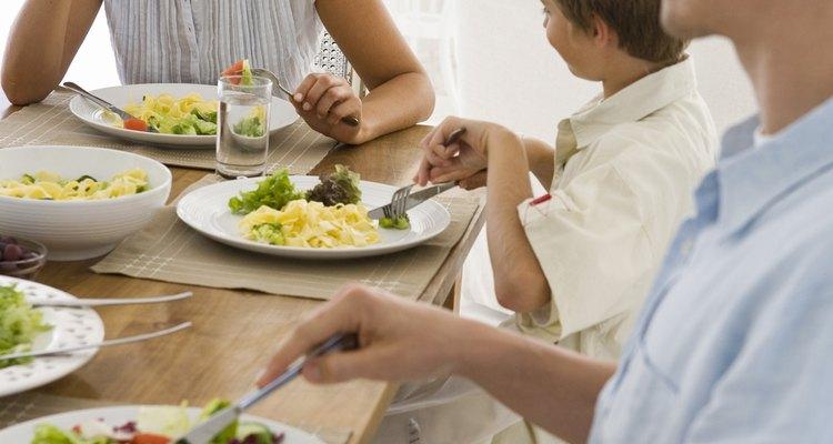 Según Fox News, el 59 por ciento de las familias estadounidenses comen juntas cinco noches a la semana.