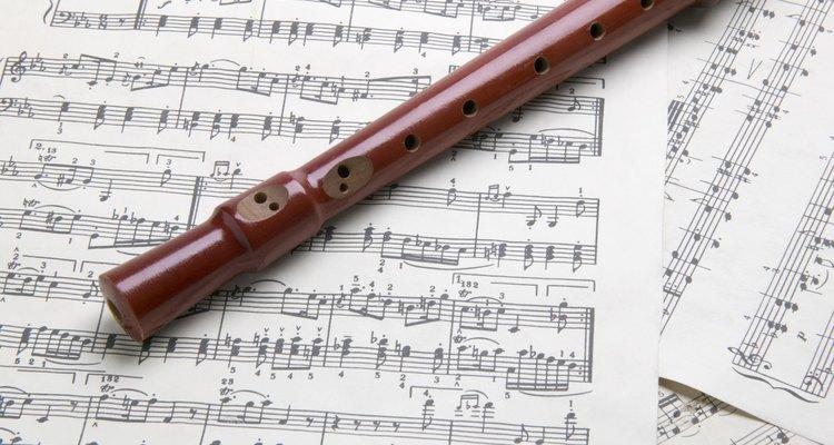 La flauta dulce es un simple instrumento de viento.