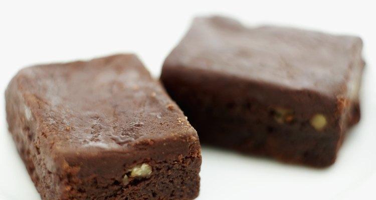 Brownies mornos são uma delícia