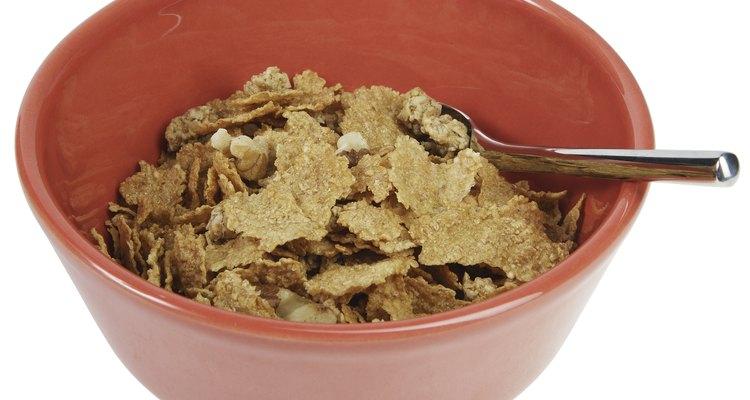 Los cereales son ricos en hidratos de carbono.