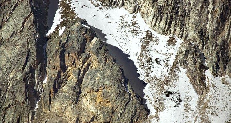 Los depósitos glaciales forman inceptisoles.