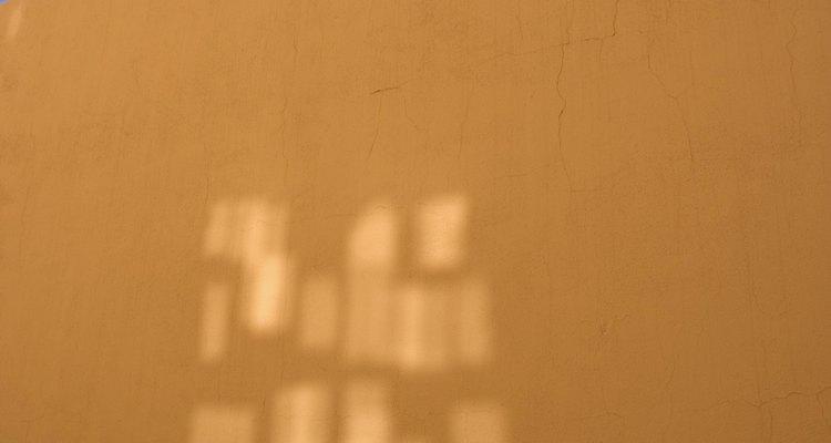 Muro de adobe.