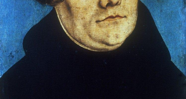 Martin Lutero creó un cisma en la Iglesia Católica.