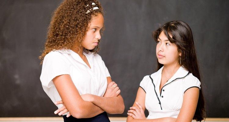 El contacto visual puede ser bueno o malo dependiendo de la expresión facial.