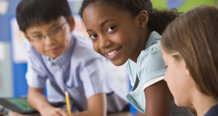 O nervosismo devido ao primeiro dia de aula não precisa impedir que os alunos falem