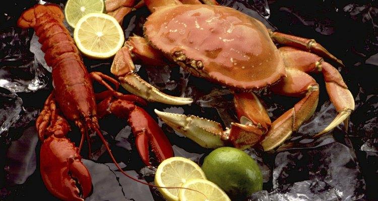 Frutas cítricas e frutos do mar são uma combinação divina