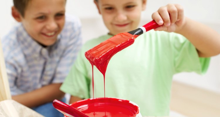 Treat paint stains immediately.