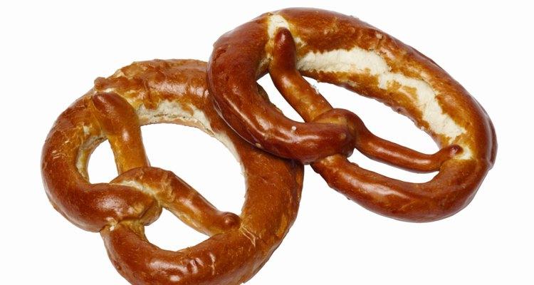 Los pretzels eran fabricados por mones y ofrecidos a los niños como recompensa por memorizar los versículos de la Biblia.
