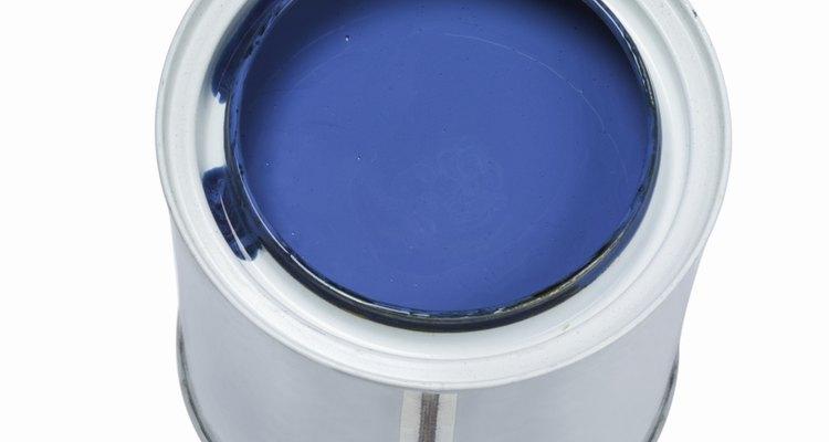 La pintura de látex puede quedar con burbujas si no se aplica correctamente.