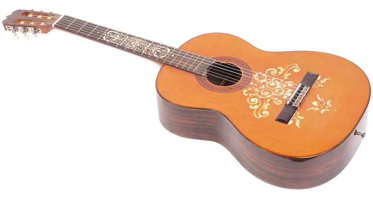 Flamenco guitars are a little different from classical guitars.