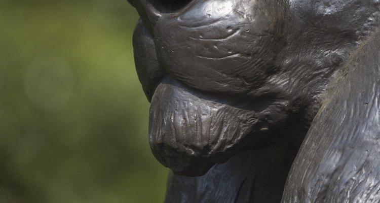 En pinturas y estatuas, los leones suelen representar la fuerza.