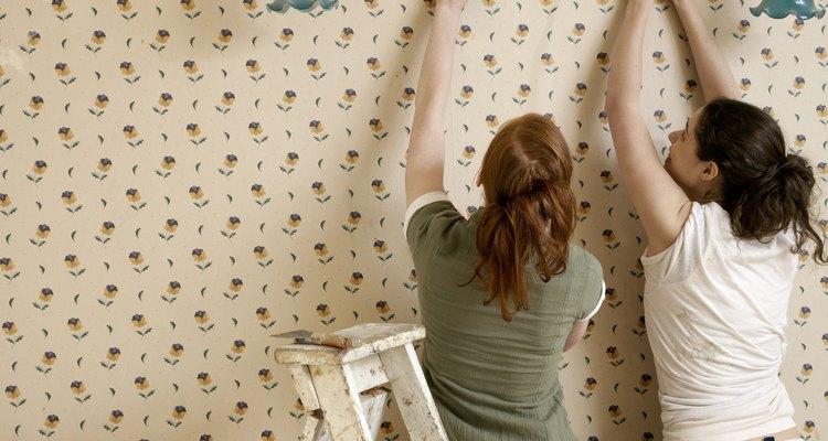 Retirando o papel de parede