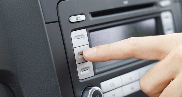 Changing the car stereo is a popular aftermarket option.