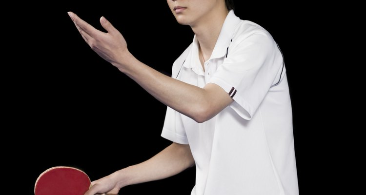 Jugador profesional de ping pong.