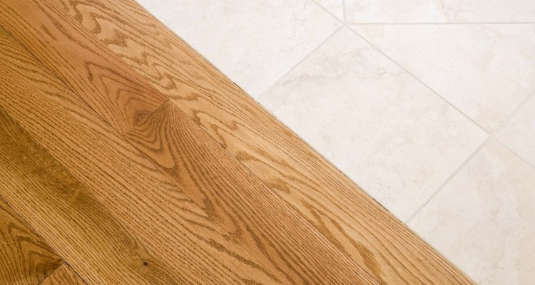 Avoid soaking a hardwood floor with water.