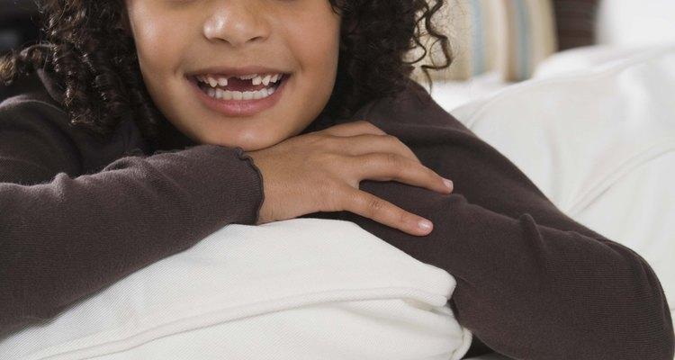 Children begin losing teeth around the age of six.