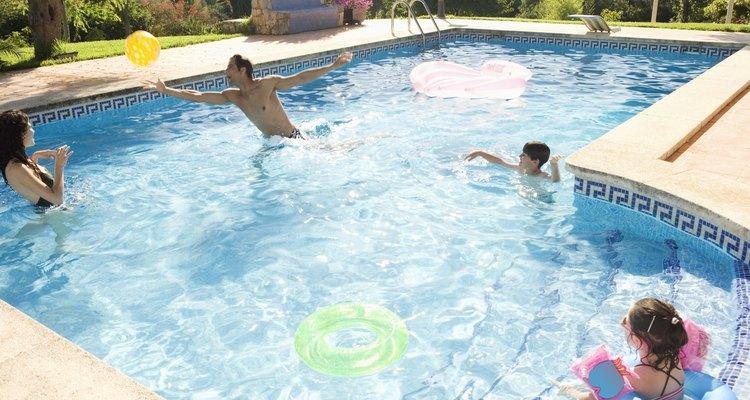 En la piscina podrán refrescarse y al mismo tiempo divertirse.