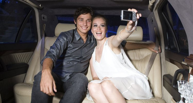 Rent a limo for your son's 16th birthday.