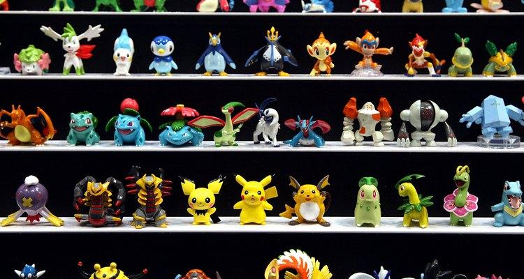 Alguns pokémons evoluem através de condições especiais