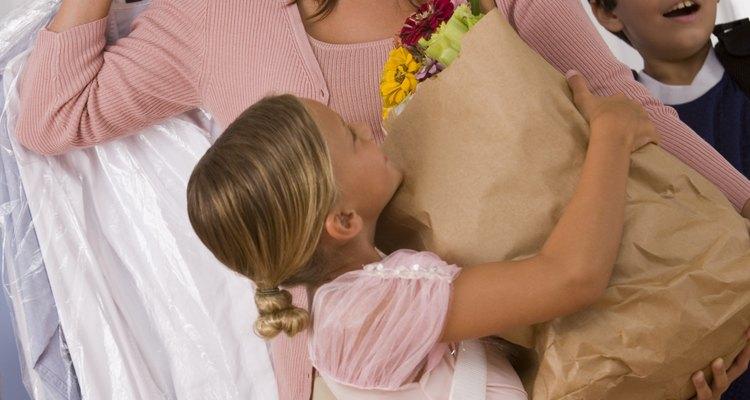 Como pedir algo para sua mãe