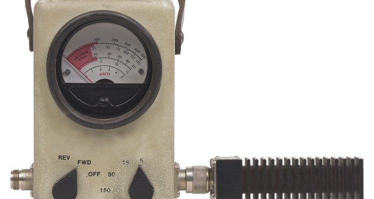 El vatímetro ha reemplazado al amperímetro para medidas de potencia RF.