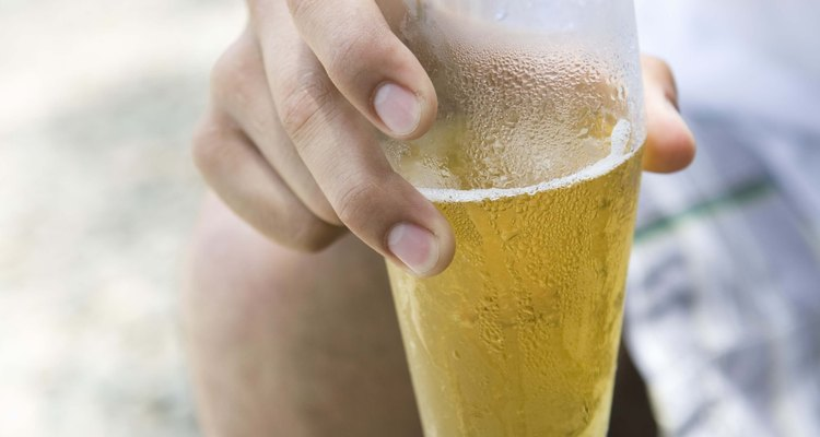 Drinking draft beer at home cuts down on waste.