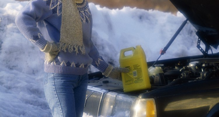 Find safe ways to dispose of old antifreeze.