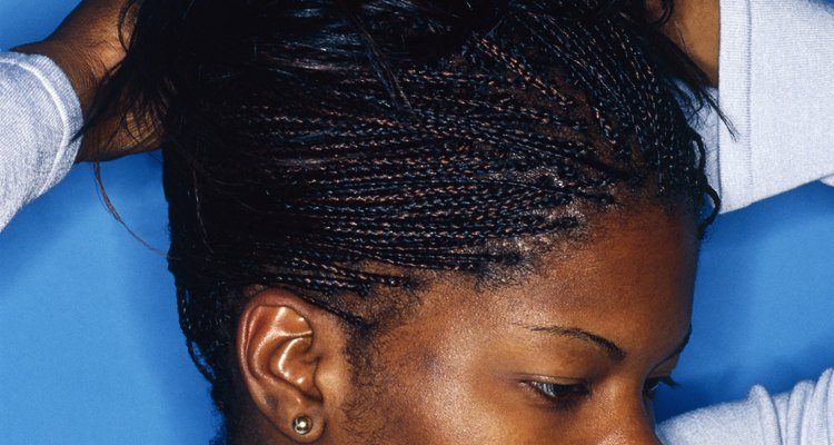 Loosen your hair extension braids to avoid damage to your hairline.
