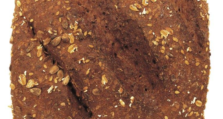 Pan con semillas de sésamo.